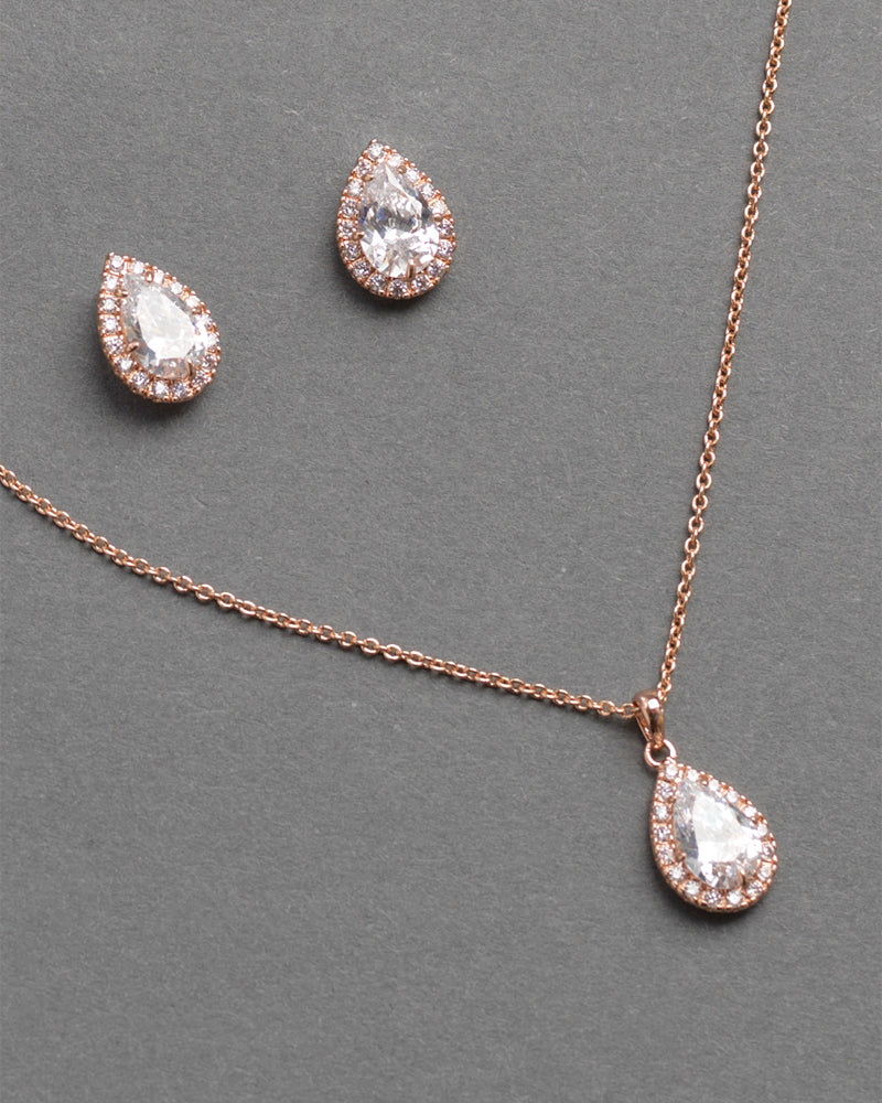 Rose Gold CZ Jewelry