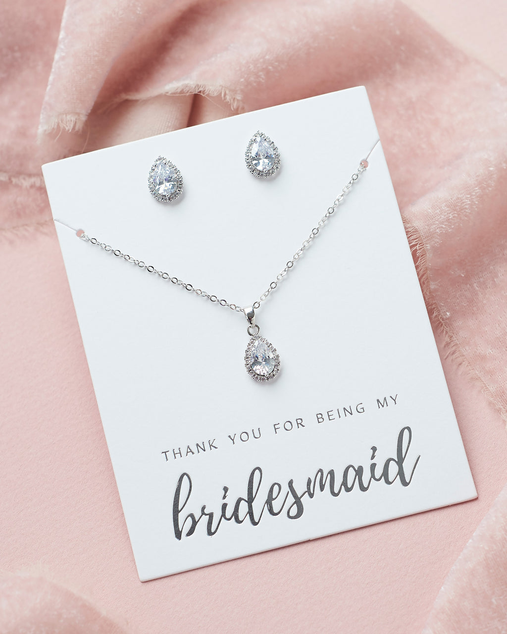 Bridesmaid Jewelry Gift