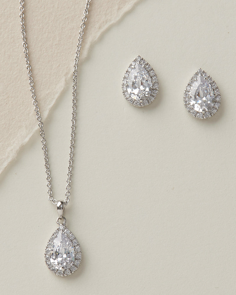CZ Jewelry Set