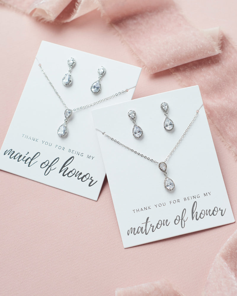 Maid of Honor Jewelry