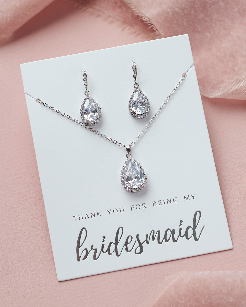 Bridesmaid Jewelry Set