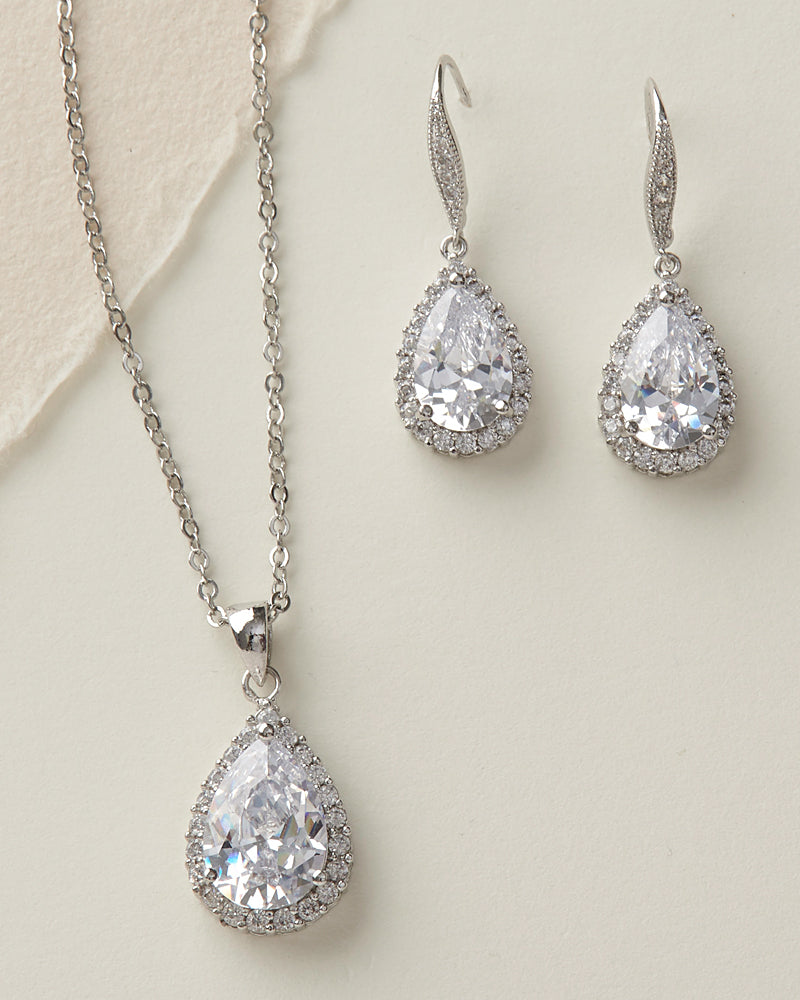 Cubic Zirconia Jewelry Set
