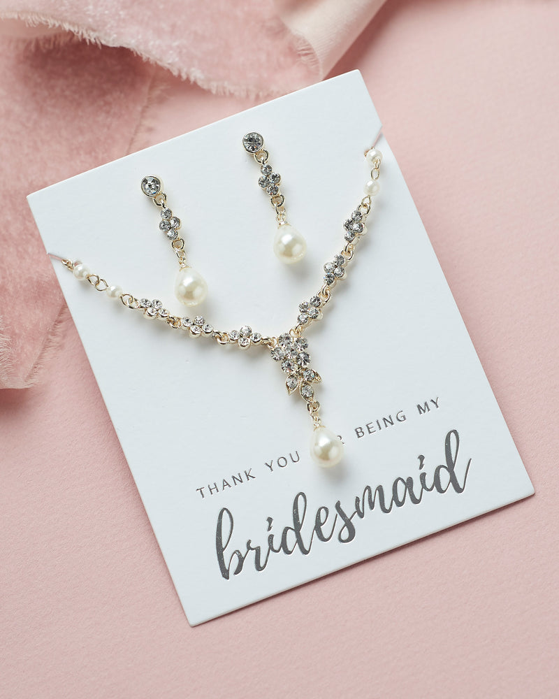 Primrose Bridesmaid Jewelry Set