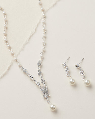 Ellie CZ Jewelry Set