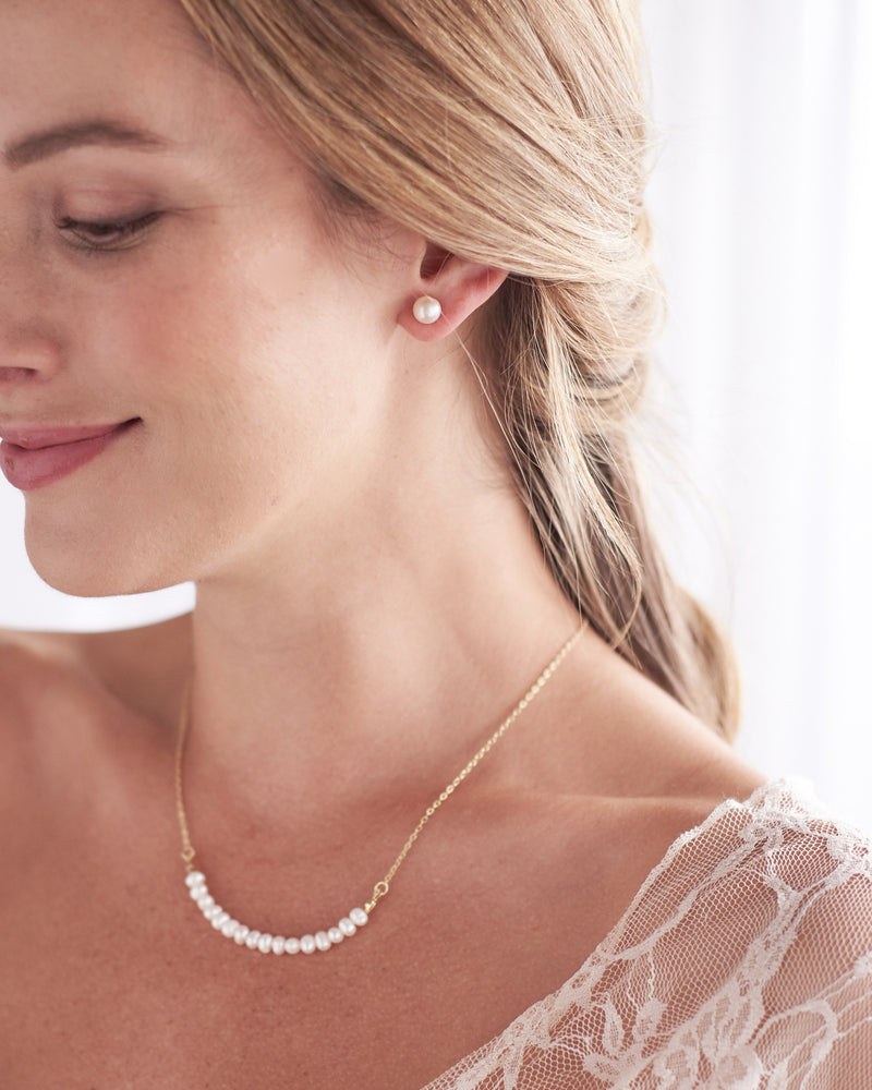 Bridesmaid Jewelry Pearls