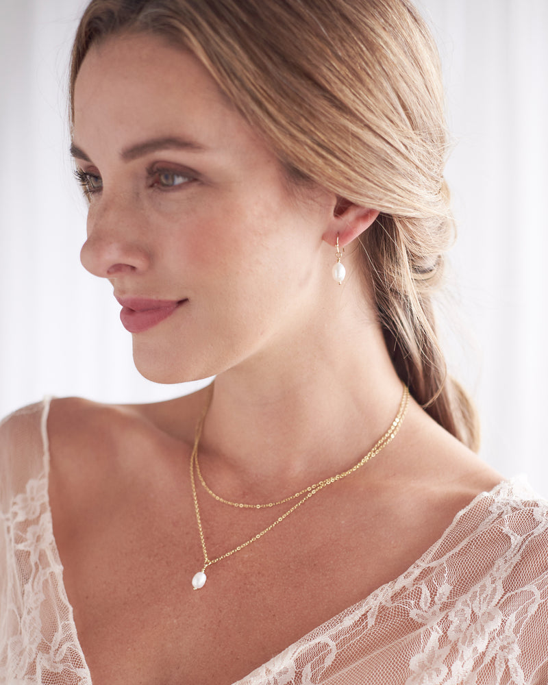 Bridesmaid Jewelry Pearl