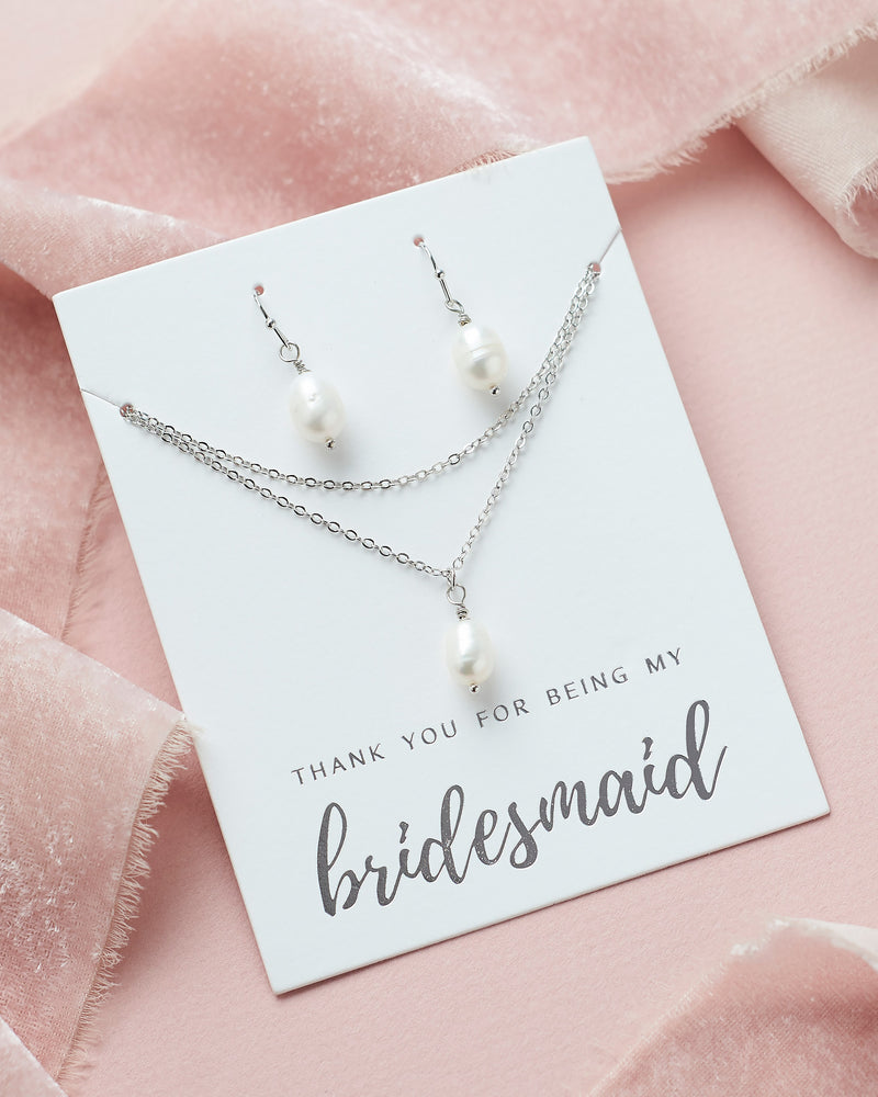 Pearl Bridesmaid Jewelry