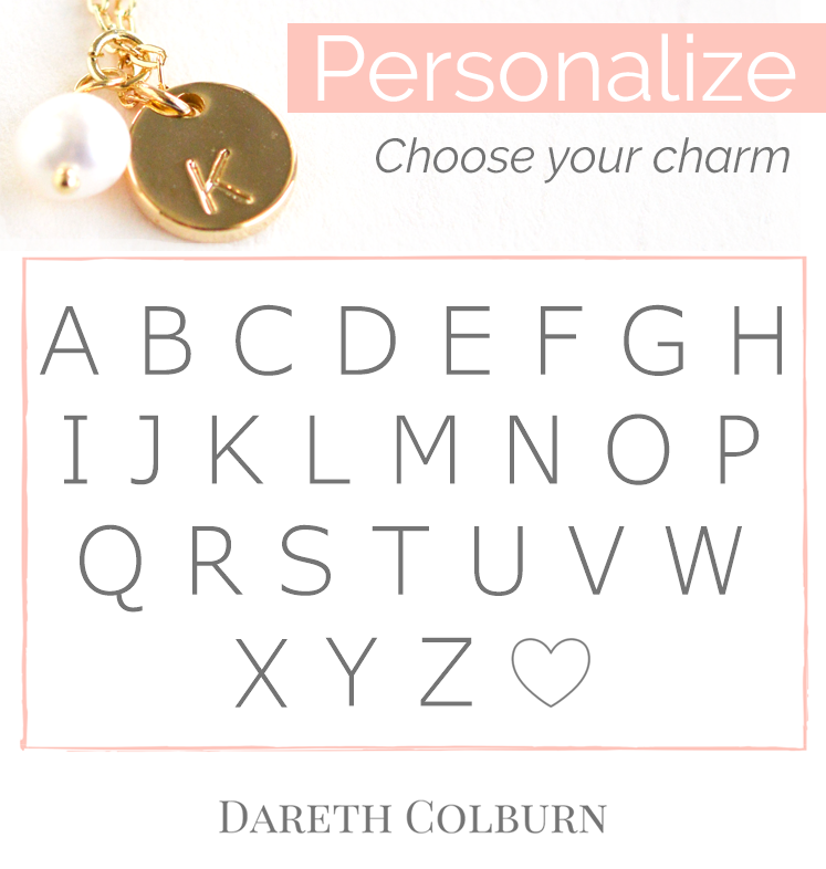 Initial Charm Necklace