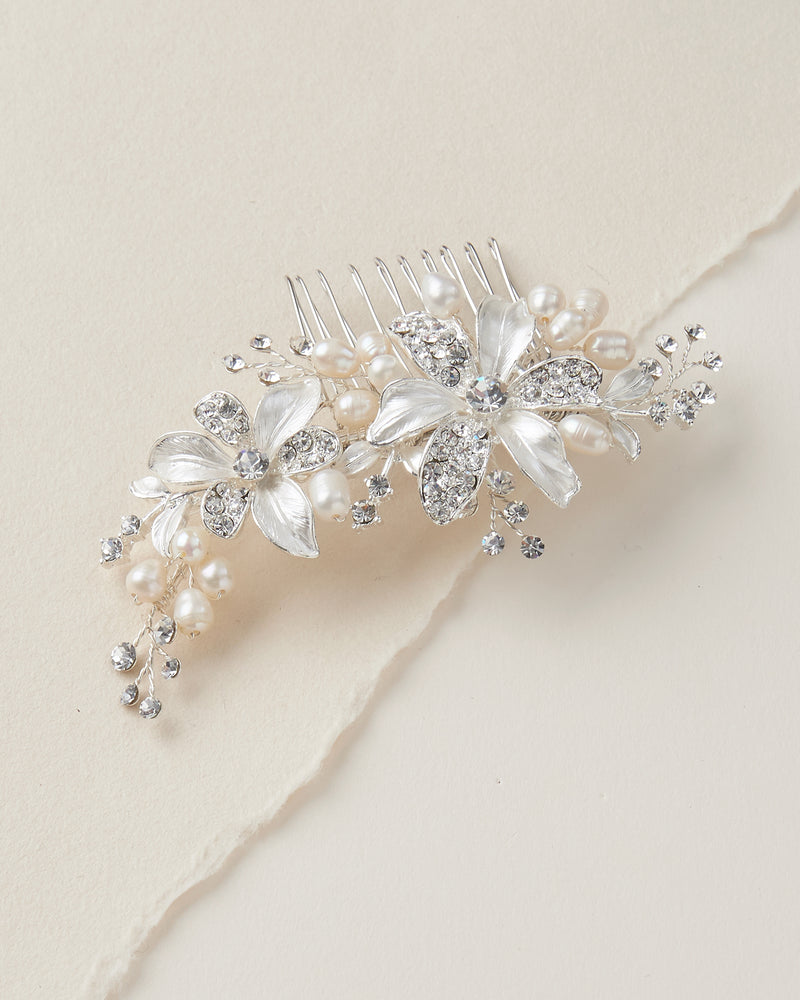 Wedding Comb Pearls