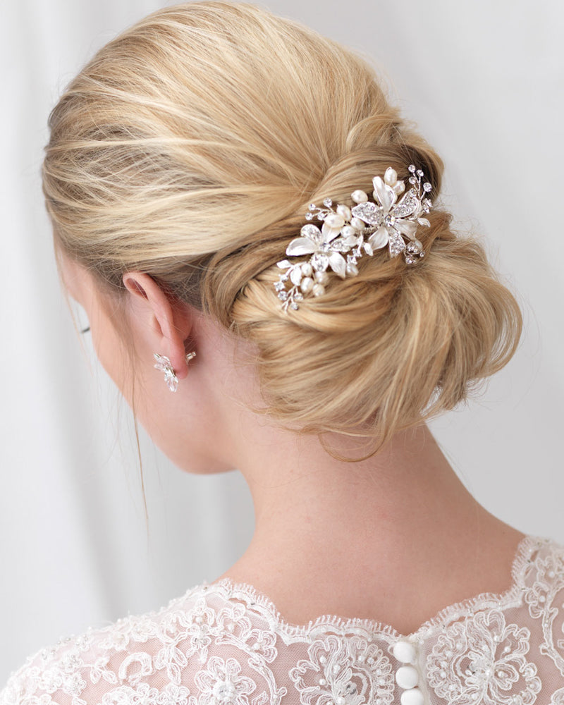Freshwater Pearl Wedding Hair Comb