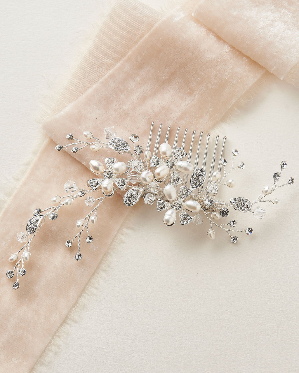 Pearl Hair Comb