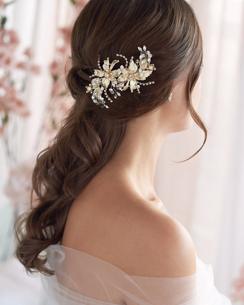 Gold Wedding Clip