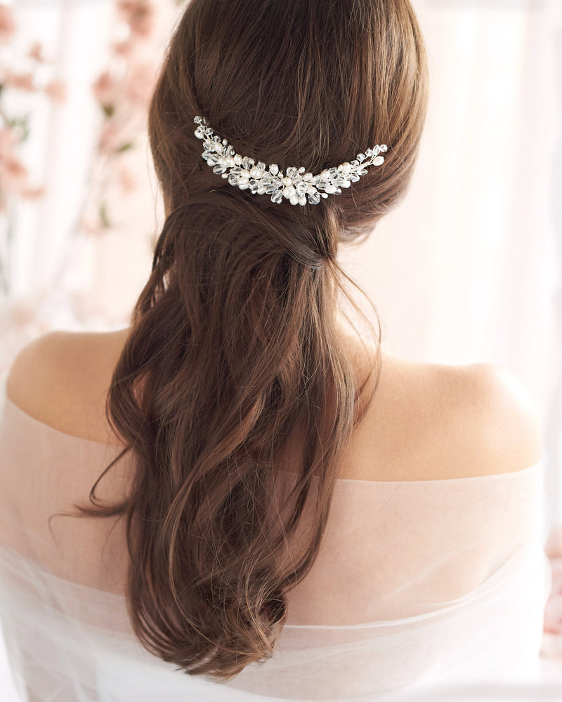 Wedding Hair Combs Pearls