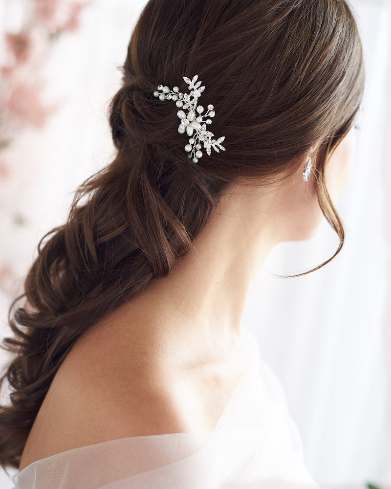 Small Pearl Wedding Hair Comb