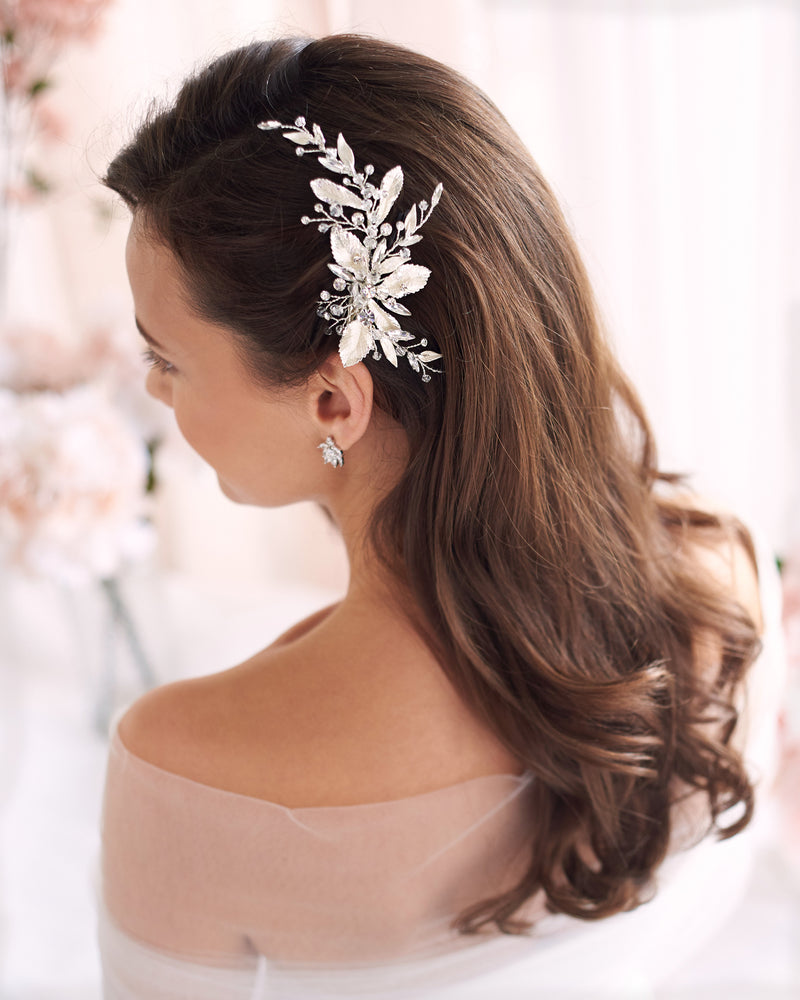 Floral Wedding Comb
