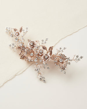 Rose Gold Wedding Clip