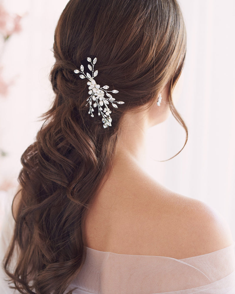 Wedding Comb with Pearls