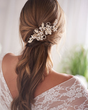 Bridal Comb Gold