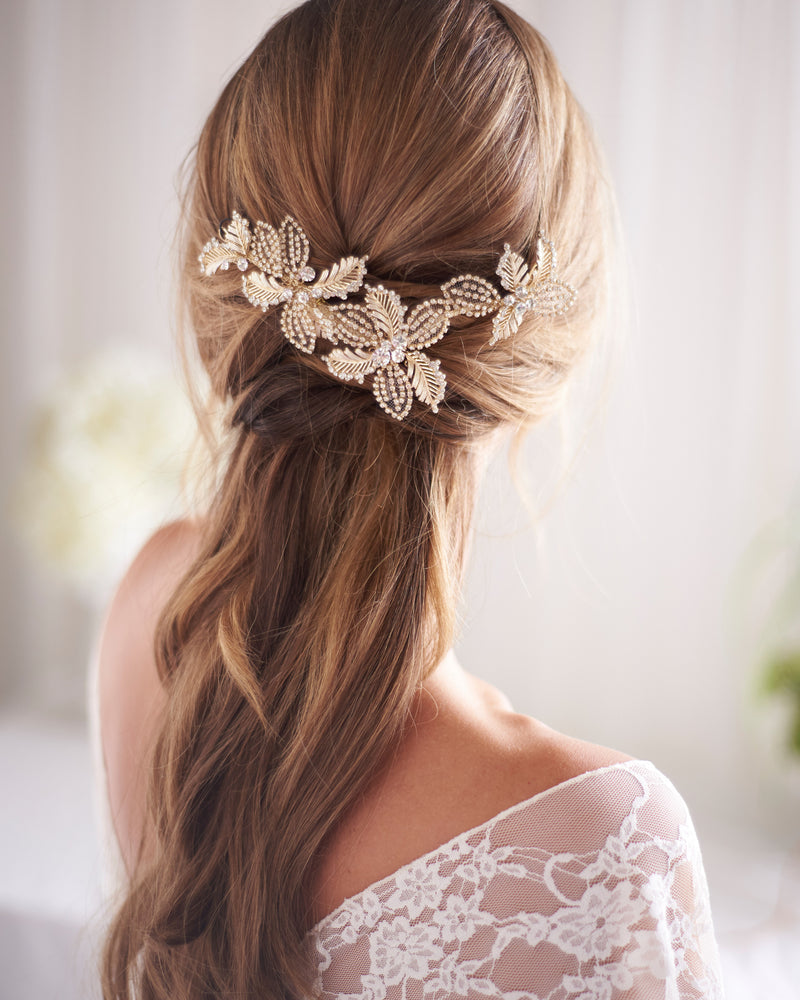 Wedding Comb Floral