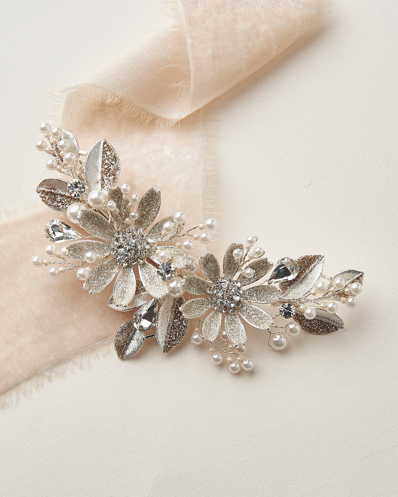 Silver Wedding Hair Accessory