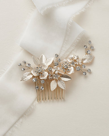 Angela Pearl Wedding Comb
