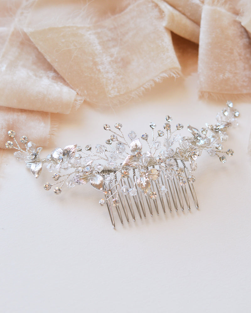 Silver Wedding Comb