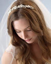Floral Pearl Wedding Headband