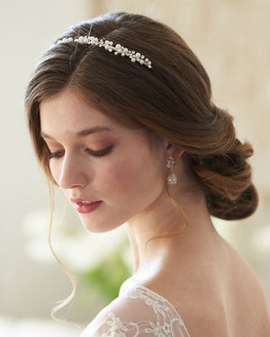 Small Pearl Bridal Headband