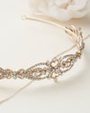 Gold Wedding Headpiece