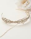 Gold Bridal Headband