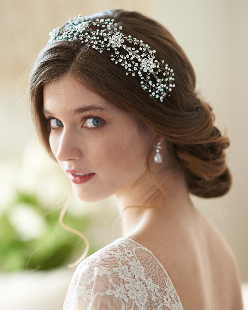 Large Wedding Headband