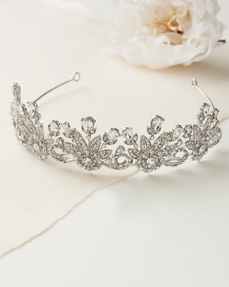Floral Bridal Crown