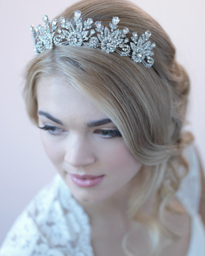 Rhinestone Bridal Crown
