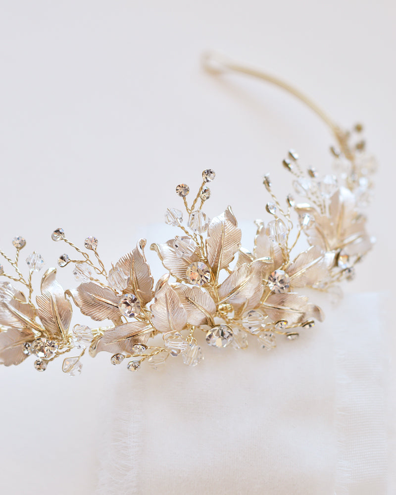 Gold Bride Headpiece
