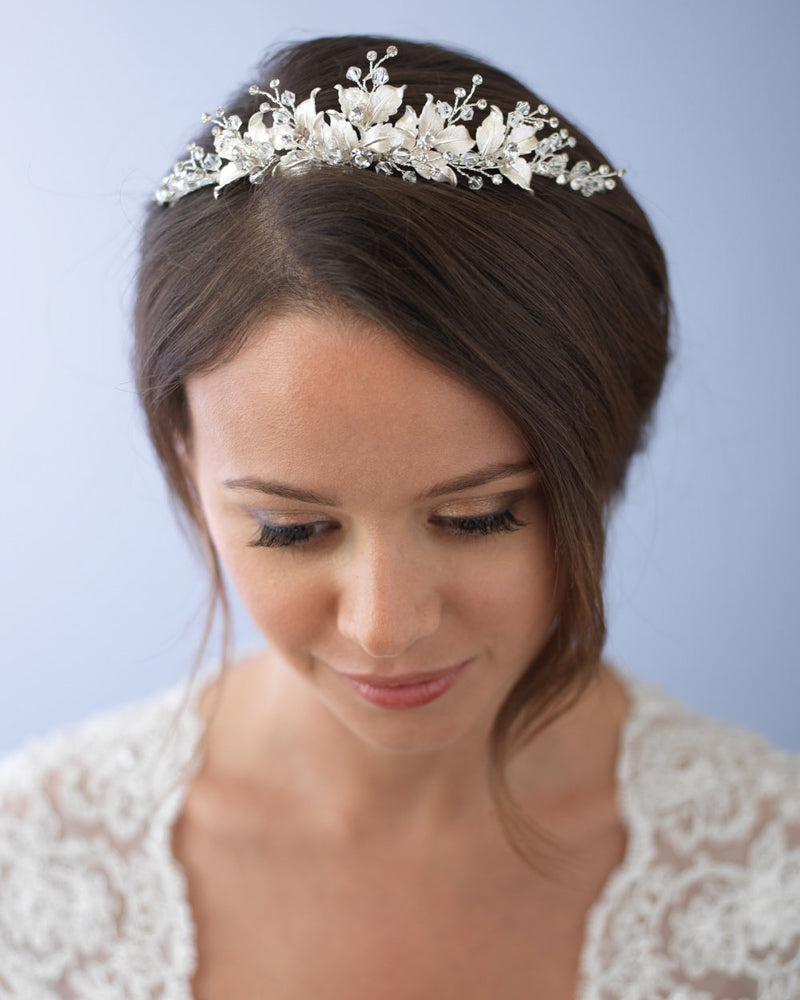 Floral Wedding Crown