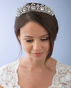 Calla Floral Wedding Tiara