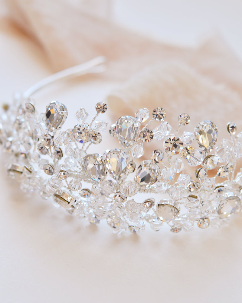 Crystal Wedding Crown