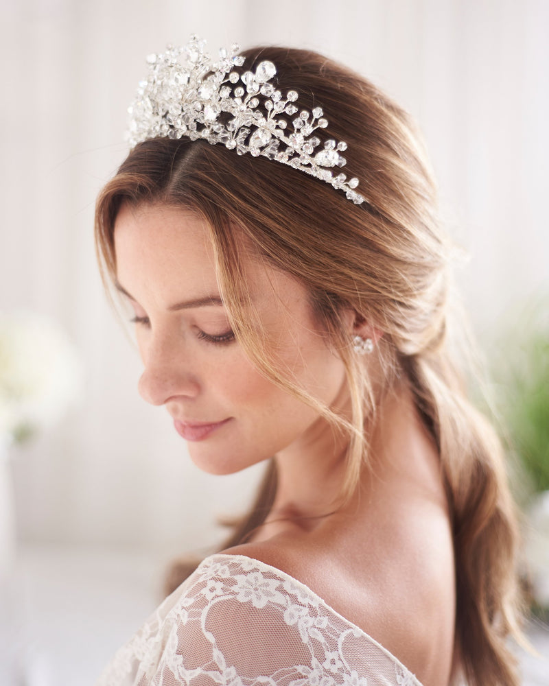 Bridal Tiara Crystal