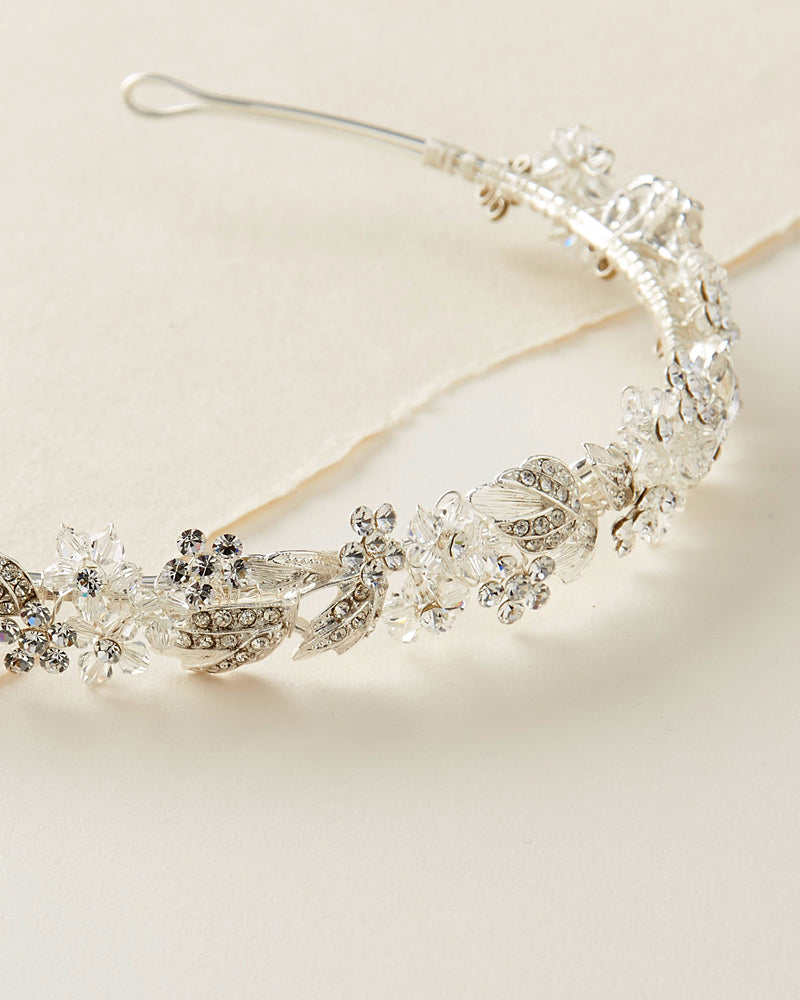 Floral Bridal Headpiece