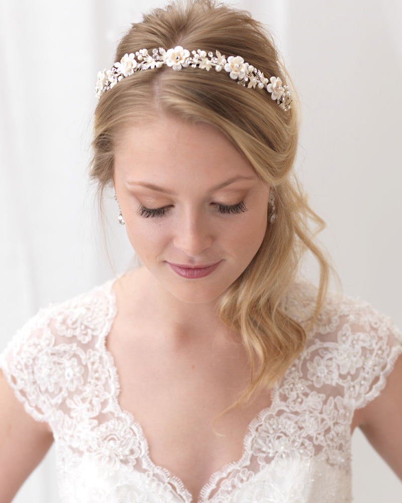 Floral Wedding Headband