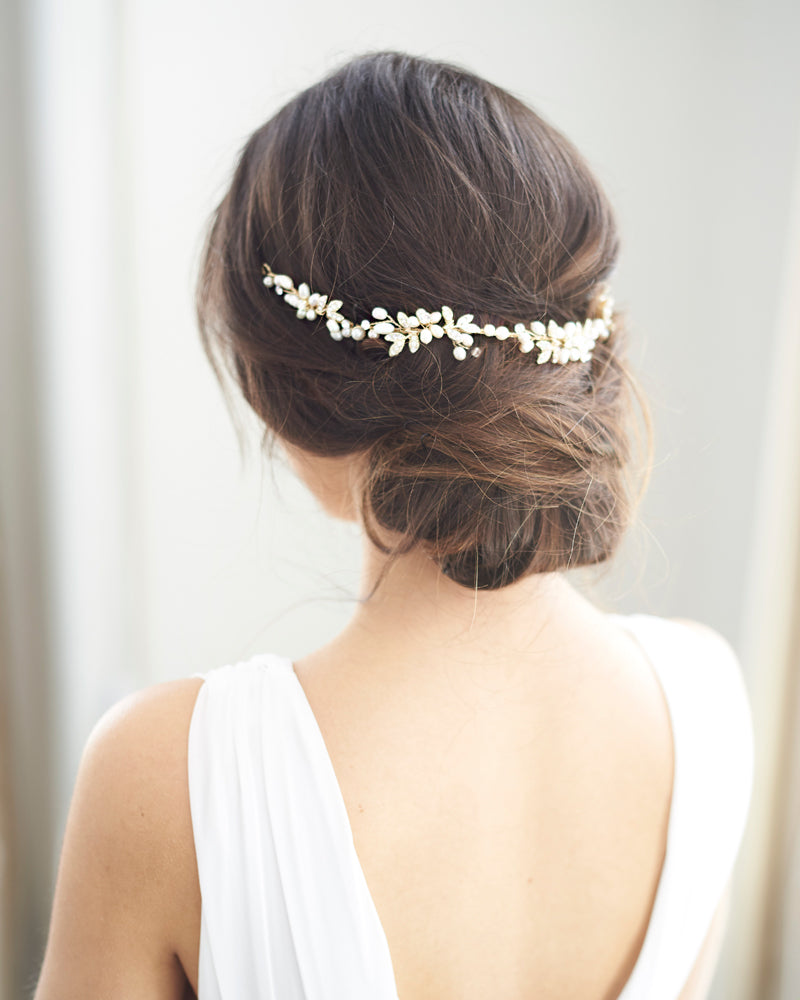 Pearl Wedding Hair Piece