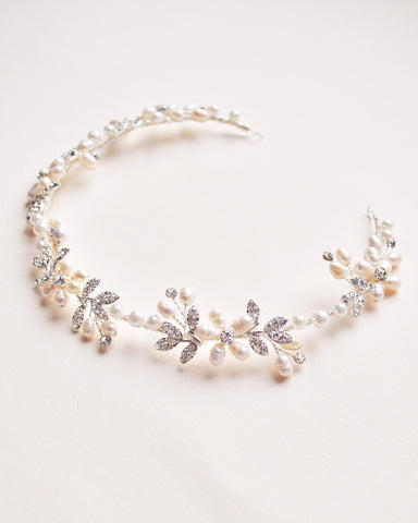 Callie Swarovski Crystal Hair Vine