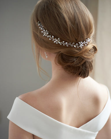 Ariel Opal Wedding Headband