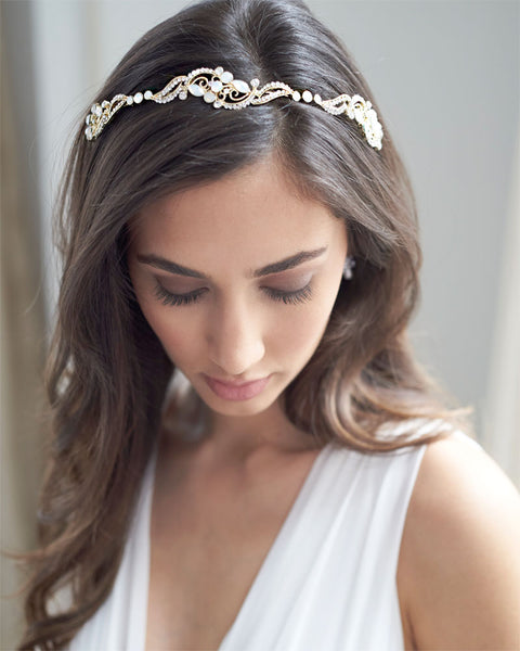 Wedding Hairstyle With Headband: Shop Wedding Hair Pieces