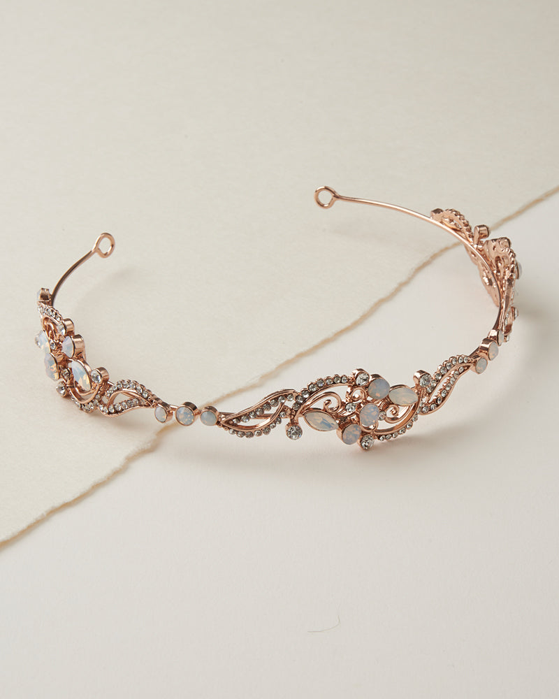 Rose Gold Opal Headband