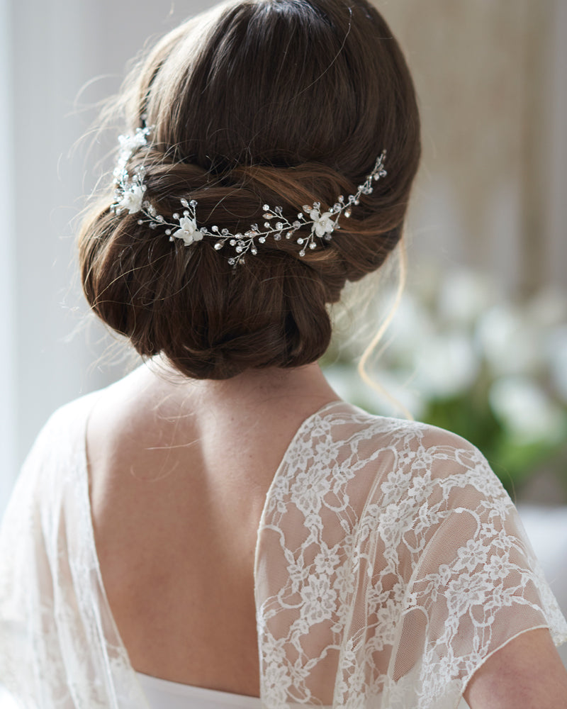 Floral Wedding Hair Vine