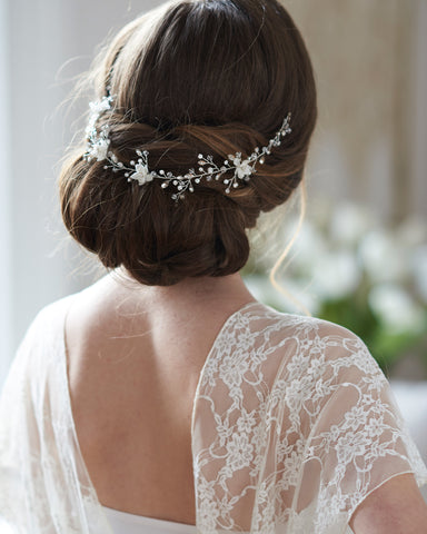 Simple Lace Edge Veil