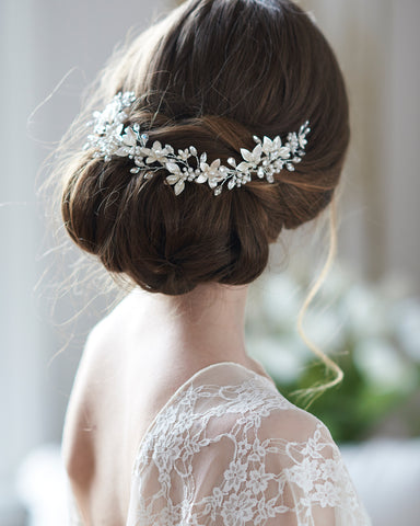 Leona Bridal Hair Vine