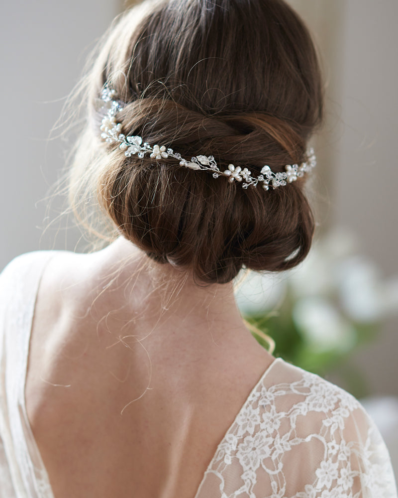 Pearl Bridal Headpiece