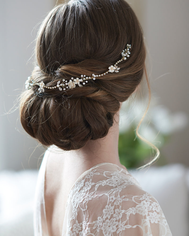 Floral Bridal Wedding Hair Accessory
